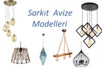 Sarkıt avize modelleri 2018
